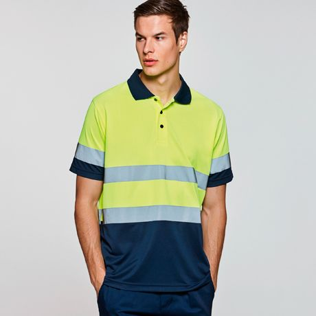 Polos fluo roly polaris polyester pour personnaliser image 1