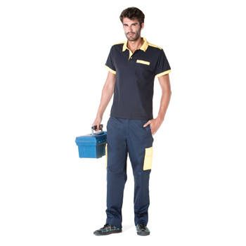 Polos de travail roly polo worker polyester pour personnaliser image 1